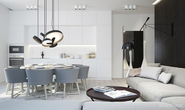 15 căn bếp hiện đại với sắc trắng tinh tế và vô cùng bắt mắt - Ảnh 7.