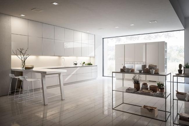 15 căn bếp hiện đại với sắc trắng tinh tế và vô cùng bắt mắt - Ảnh 10.