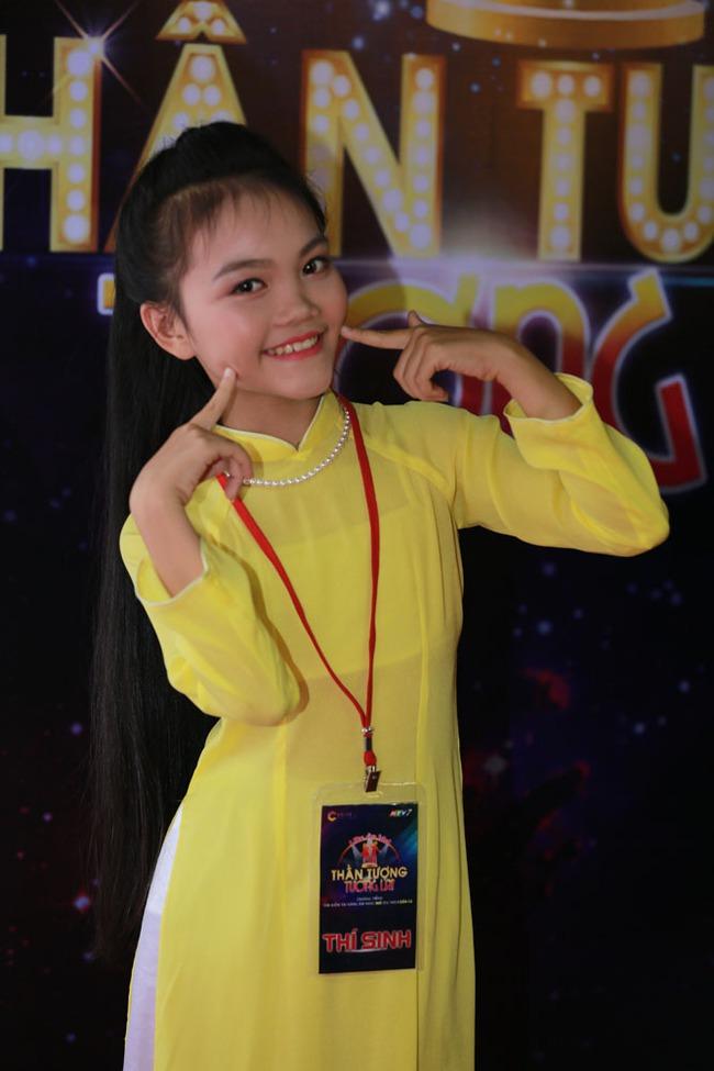 Đây là bé 13 tuổi vừa xinh, vừa hát dân ca hay như NSND Thu Hiền - Ảnh 5.