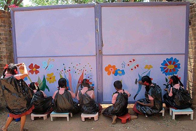 Những trường học được thiết kế như một tác phẩm nghệ thuật đầy cảm hứng trên thế giới - Ảnh 4.