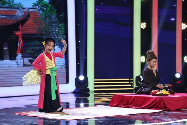 Ca nương nhỏ tuổi nhất Việt Nam Tú Thanh bất ngờ xuất hiện ở Biệt tài tí hon - Ảnh 5.