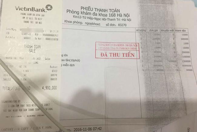 Sau vụ sản phụ hôn mê ở phòng khám 168 Hà Nội: Thêm 1 bệnh nhân tố phòng khám lừa đảo - Ảnh 4.