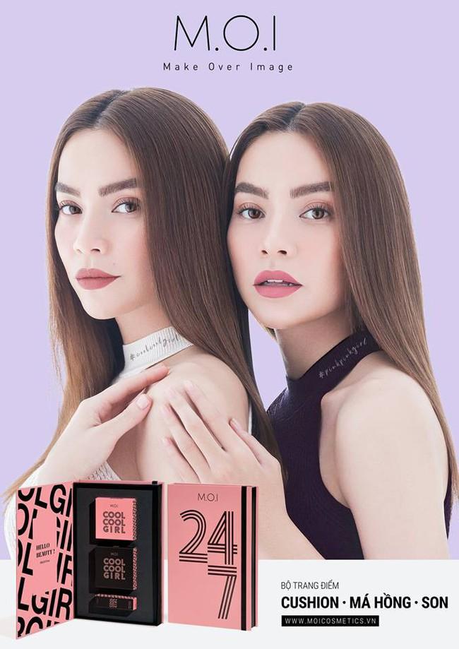 Sau BST son 6 màu, Hồ Ngọc Hà lại tung chiêu mới với set make up trọn bộ son phấn giá chưa đến 1 triệu - Ảnh 1.