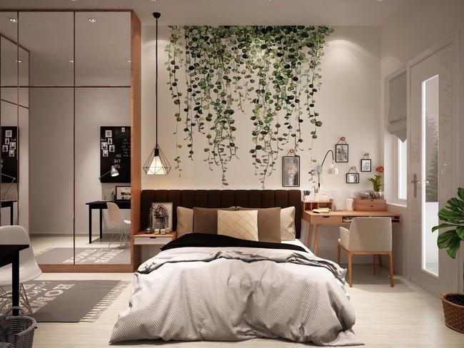 Biến tấu phòng ngủ theo những kiểu trang trí mới mẻ này, bạn sẽ thấy những giấc mơ thanh xuân như ùa về - Ảnh 14.