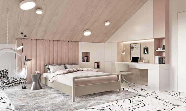 Biến tấu phòng ngủ theo những kiểu trang trí mới mẻ này, bạn sẽ thấy những giấc mơ thanh xuân như ùa về - Ảnh 17.