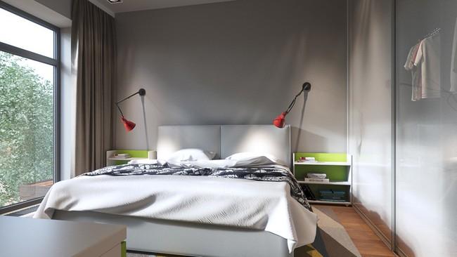 Biến tấu phòng ngủ theo những kiểu trang trí mới mẻ này, bạn sẽ thấy những giấc mơ thanh xuân như ùa về - Ảnh 19.