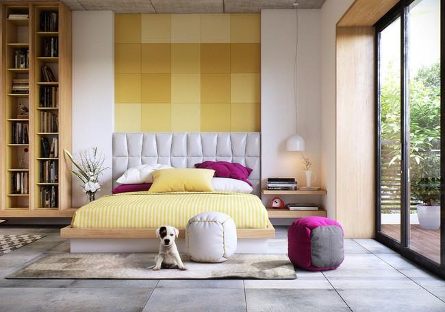 Biến tấu phòng ngủ theo những kiểu trang trí mới mẻ này, bạn sẽ thấy những giấc mơ thanh xuân như ùa về - Ảnh 4.