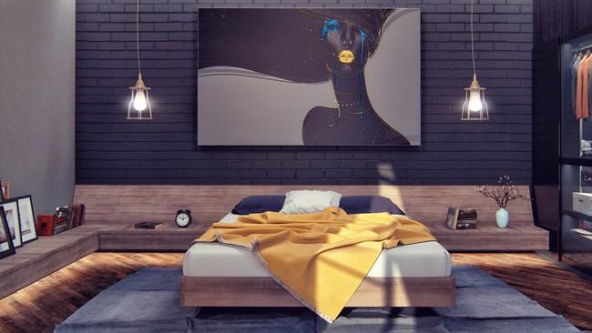 Biến tấu phòng ngủ theo những kiểu trang trí mới mẻ này, bạn sẽ thấy những giấc mơ thanh xuân như ùa về - Ảnh 7.