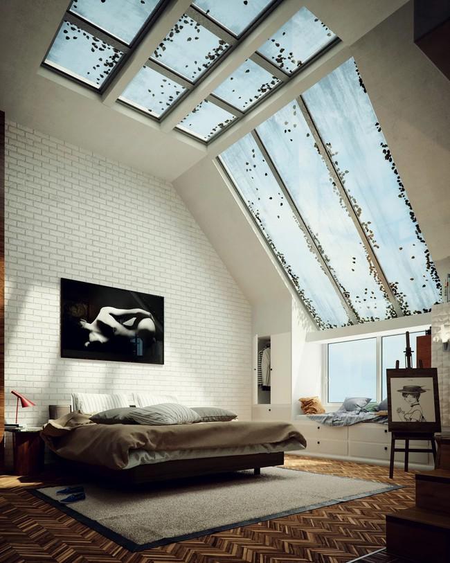 Biến tấu phòng ngủ theo những kiểu trang trí mới mẻ này, bạn sẽ thấy những giấc mơ thanh xuân như ùa về - Ảnh 8.