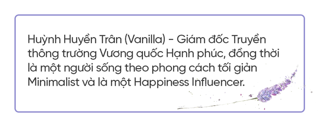 Huyền Trân Vanilla: Có thật nhiều nhưng không mang lại hạnh phúc thì để làm gì? - Ảnh 1.