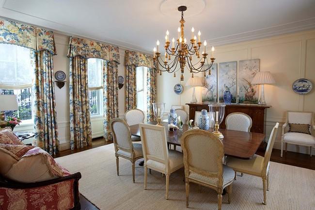 Tuyệt chiêu lựa chọn rèm cửa để nâng tầm vẻ đẹp của căn phòng ăn gia đình để đón xuân mới - Ảnh 11.