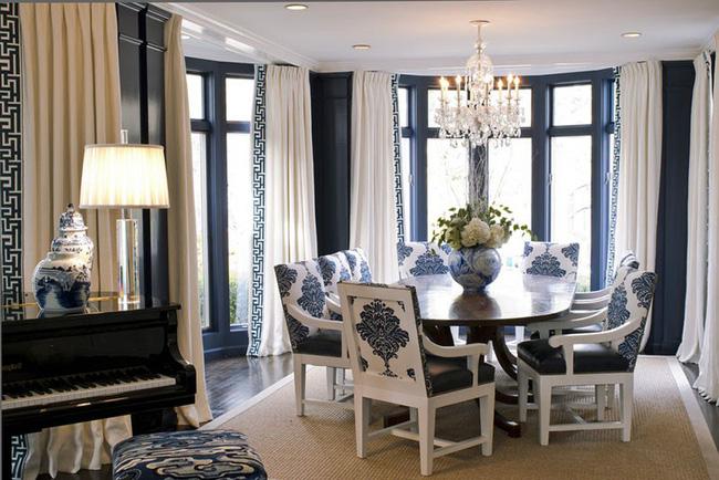 Tuyệt chiêu lựa chọn rèm cửa để nâng tầm vẻ đẹp của căn phòng ăn gia đình để đón xuân mới - Ảnh 17.