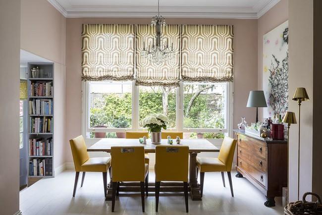 Tuyệt chiêu lựa chọn rèm cửa để nâng tầm vẻ đẹp của căn phòng ăn gia đình để đón xuân mới - Ảnh 18.