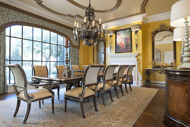 Tuyệt chiêu lựa chọn rèm cửa để nâng tầm vẻ đẹp của căn phòng ăn gia đình để đón xuân mới - Ảnh 4.