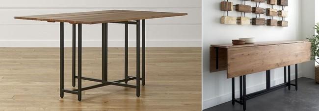 10 thiết kế bàn gấp giúp gia chủ tiết kiệm được diện tích sống tối đa - Ảnh 11.
