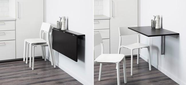 10 thiết kế bàn gấp giúp gia chủ tiết kiệm được diện tích sống tối đa - Ảnh 13.