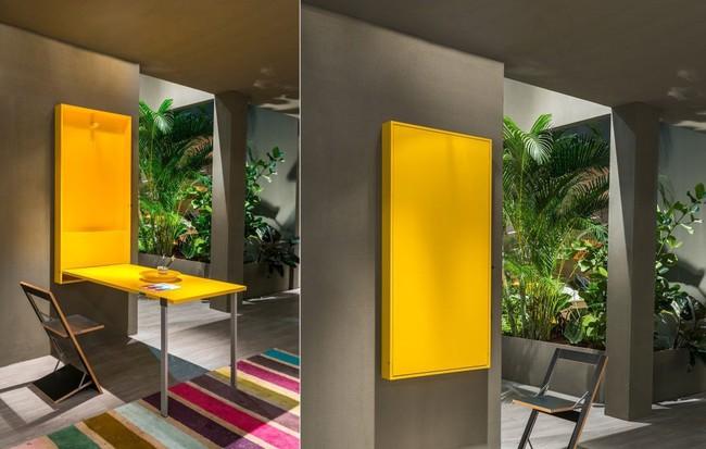 10 thiết kế bàn gấp giúp gia chủ tiết kiệm được diện tích sống tối đa - Ảnh 5.