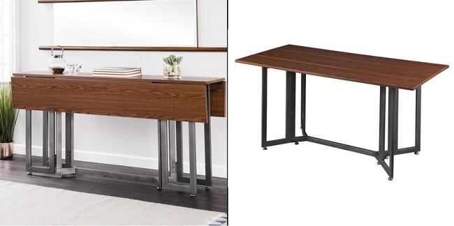 10 thiết kế bàn gấp giúp gia chủ tiết kiệm được diện tích sống tối đa - Ảnh 6.