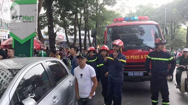 Cháy trong căn hộ chung cư HH Linh Đàm, Hà Nội - Ảnh 7.