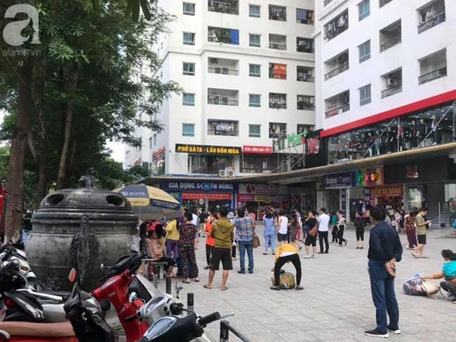 Cháy trong căn hộ chung cư HH Linh Đàm, Hà Nội - Ảnh 4.