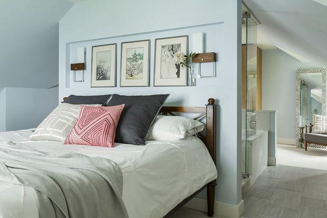 Đừng ngại tạo cho mình một không gian thư giãn yên bình với gam màu xanh lam - Ảnh 12.
