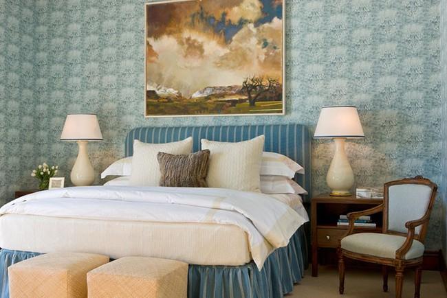 Đừng ngại tạo cho mình một không gian thư giãn yên bình với gam màu xanh lam - Ảnh 13.
