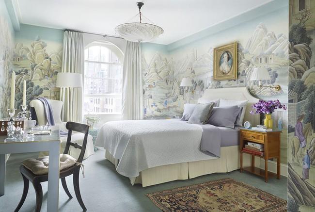 Đừng ngại tạo cho mình một không gian thư giãn yên bình với gam màu xanh lam - Ảnh 15.