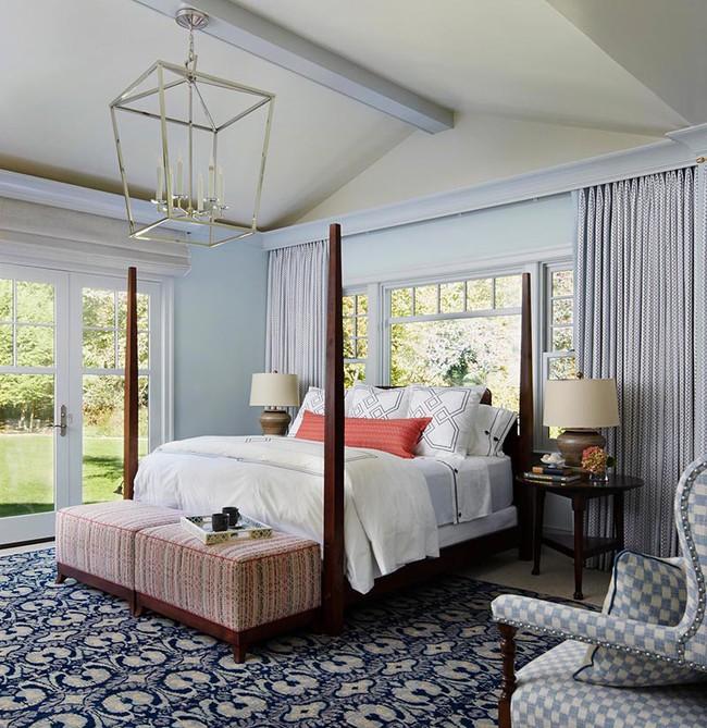 Đừng ngại tạo cho mình một không gian thư giãn yên bình với gam màu xanh lam - Ảnh 18.