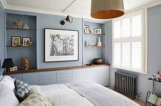 Đừng ngại tạo cho mình một không gian thư giãn yên bình với gam màu xanh lam - Ảnh 20.