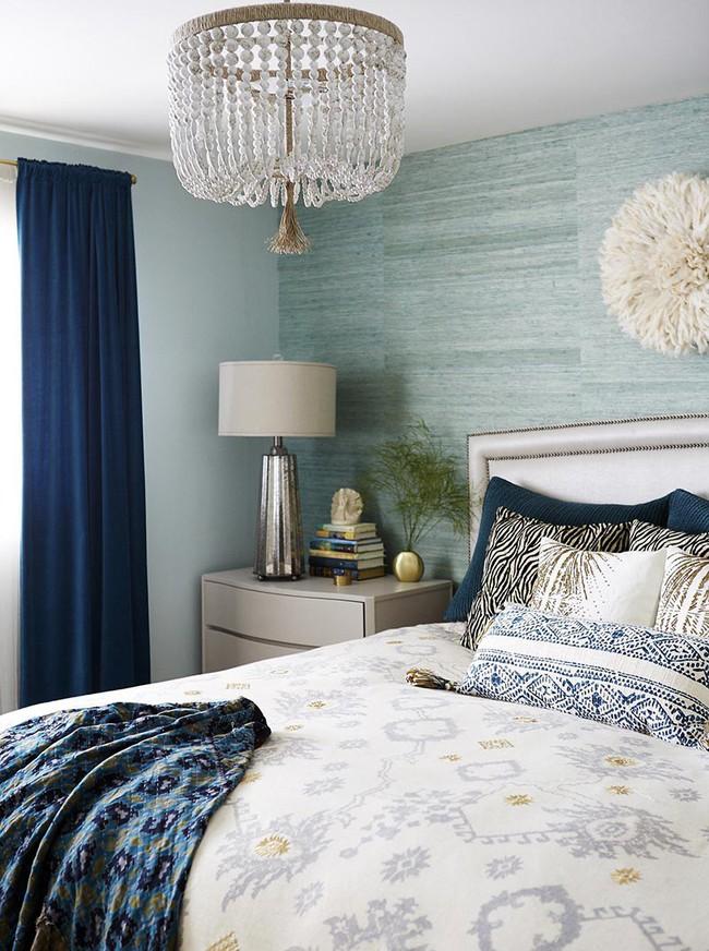 Đừng ngại tạo cho mình một không gian thư giãn yên bình với gam màu xanh lam - Ảnh 21.