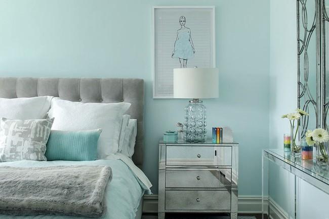 Đừng ngại tạo cho mình một không gian thư giãn yên bình với gam màu xanh lam - Ảnh 3.