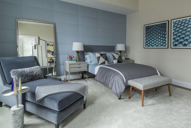 Đừng ngại tạo cho mình một không gian thư giãn yên bình với gam màu xanh lam - Ảnh 8.