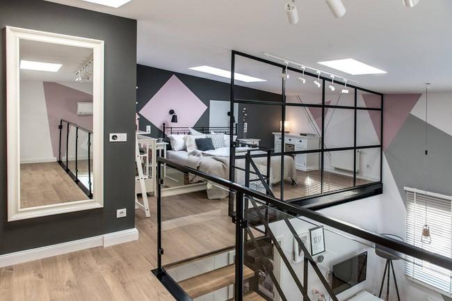 Chỉ vỏn vẹn 30m², căn hộ có gác lửng siêu yêu này sẽ khiến bạn trầm trồ không ngớt - Ảnh 15.