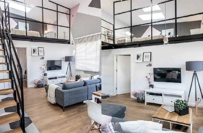 Chỉ vỏn vẹn 30m², căn hộ có gác lửng siêu yêu này sẽ khiến bạn trầm trồ không ngớt - Ảnh 9.