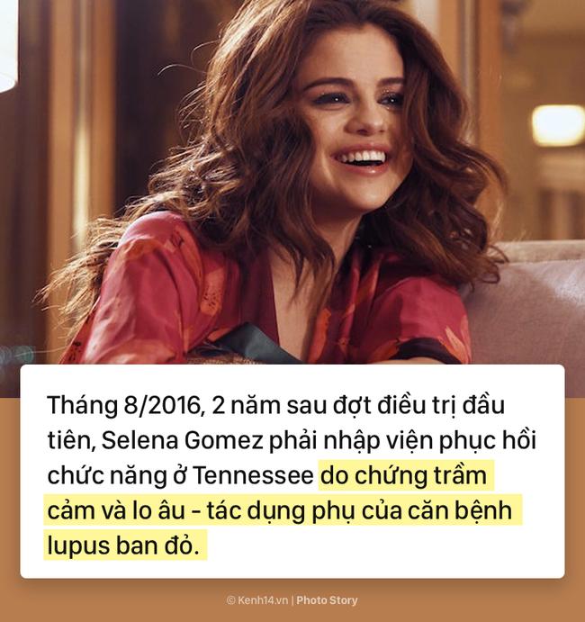 Selena Gomez và hành trình 5 năm chống chọi với căn bệnh lupus ban đỏ kèm di chứng - Ảnh 2.