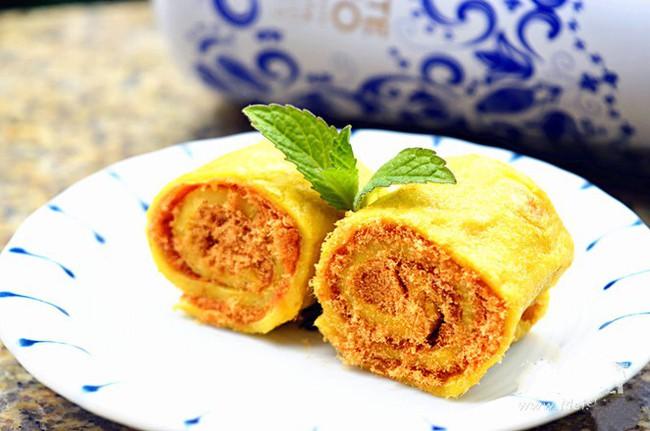 Bữa sáng ngon lạ với bánh trứng chiên cuộn chà bông - Ảnh 6.