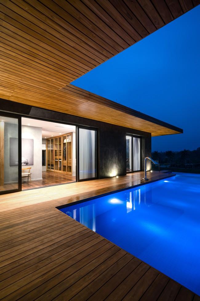 Căn biệt thự gỗ đẹp như bước ra từ phim Hàn Quốc nằm cách Hà Nội chỉ hơn 1 giờ lái xe - Ảnh 15.