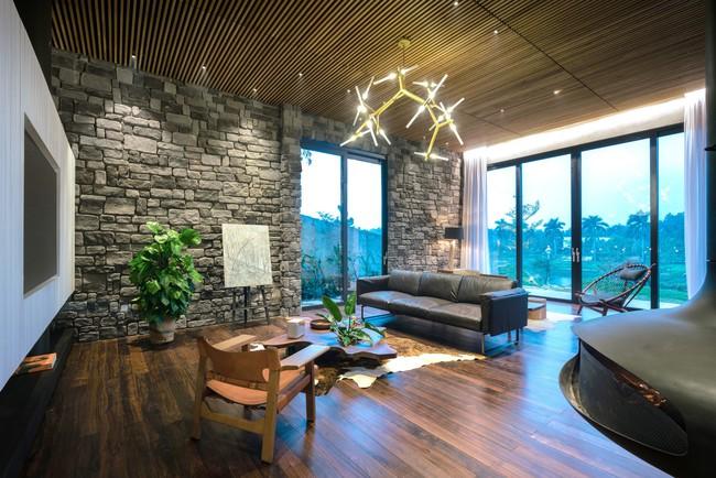 Căn biệt thự gỗ đẹp như bước ra từ phim Hàn Quốc nằm cách Hà Nội chỉ hơn 1 giờ lái xe - Ảnh 4.