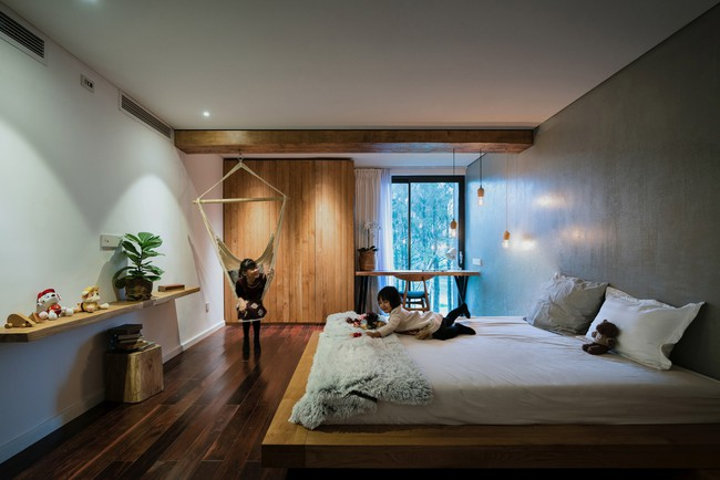 Căn biệt thự gỗ đẹp như bước ra từ phim Hàn Quốc nằm cách Hà Nội chỉ hơn 1 giờ lái xe - Ảnh 12.