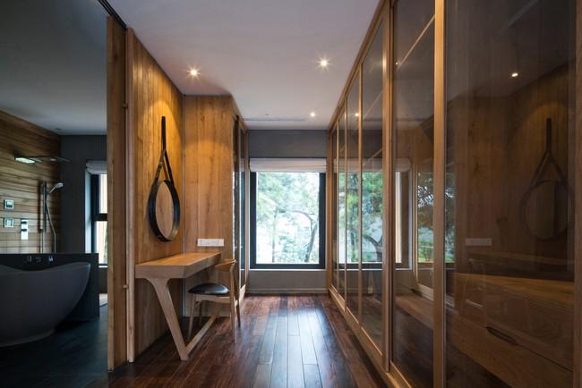 Căn biệt thự gỗ đẹp như bước ra từ phim Hàn Quốc nằm cách Hà Nội chỉ hơn 1 giờ lái xe - Ảnh 11.