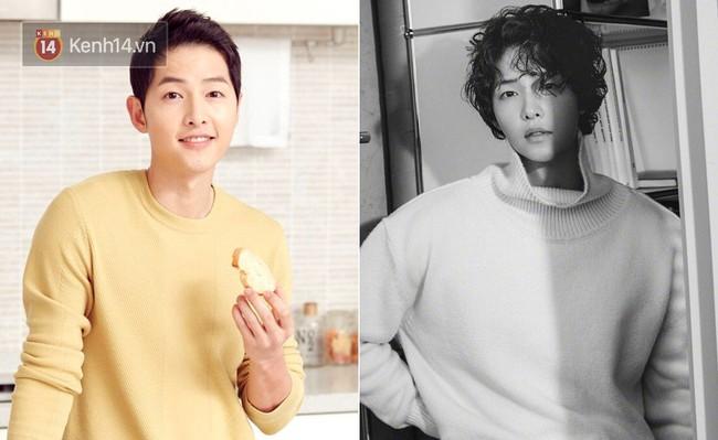 """Song Joong Ki, G-Dragon, Won Bin… đều từng để """"tóc xoăn tổ quạ"""" như Sơn Tùng: người được khen, người lại bị chê thậm tệ - Ảnh 2."""