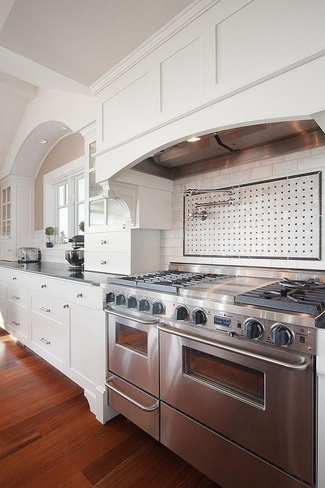 Nhanh tay sử dụng thiết kế bảng đục lỗ đang ngày càng hot để lưu trữ đồ gia dụng siêu gọn cho nhà bếp  - Ảnh 11.