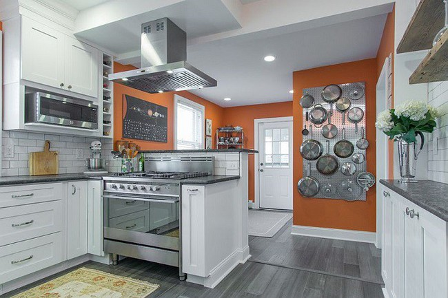 Nhanh tay sử dụng thiết kế bảng đục lỗ đang ngày càng hot để lưu trữ đồ gia dụng siêu gọn cho nhà bếp  - Ảnh 15.