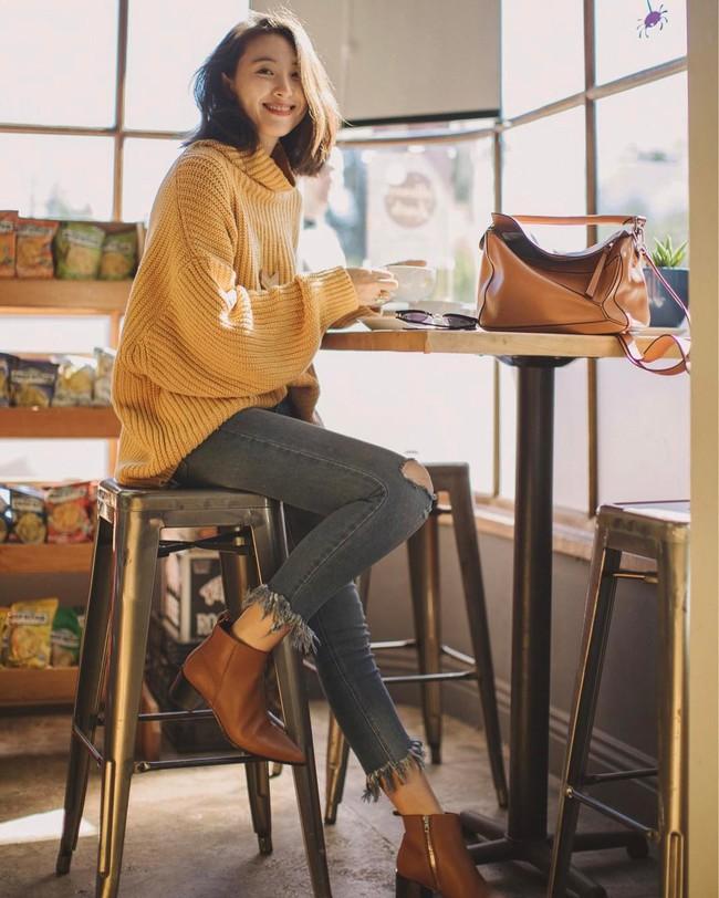15 gợi ý cho thấy boots thấp cổ là item phải có trong mùa lạnh vì kết hợp kiểu gì cũng đẹp và sang  - Ảnh 5.