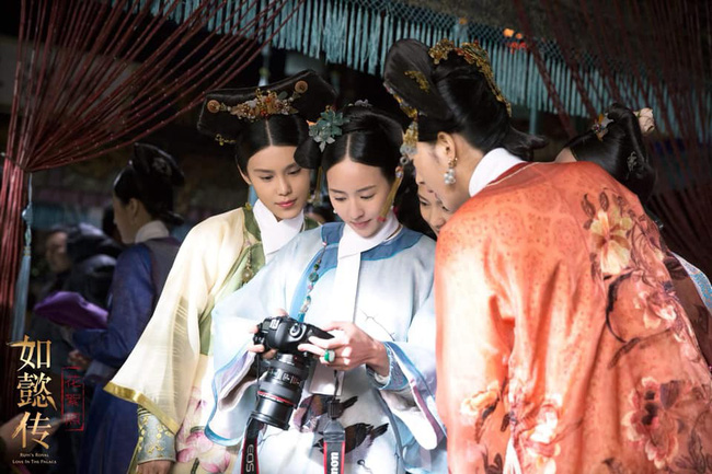 Rảnh rỗi như Du Phi - Trương Quân Ninh: Khi không có gì làm, đi chụp ảnh dạo khắp trường quay Như Ý truyện - Ảnh 9.