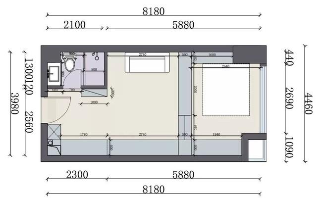 Ai cũng ngả mũ bái phục trước tài sắp xếp của chủ nhân căn hộ 35m² này - Ảnh 2.