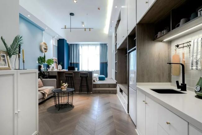 Ai cũng ngả mũ bái phục trước tài sắp xếp của chủ nhân căn hộ 35m² này - Ảnh 12.