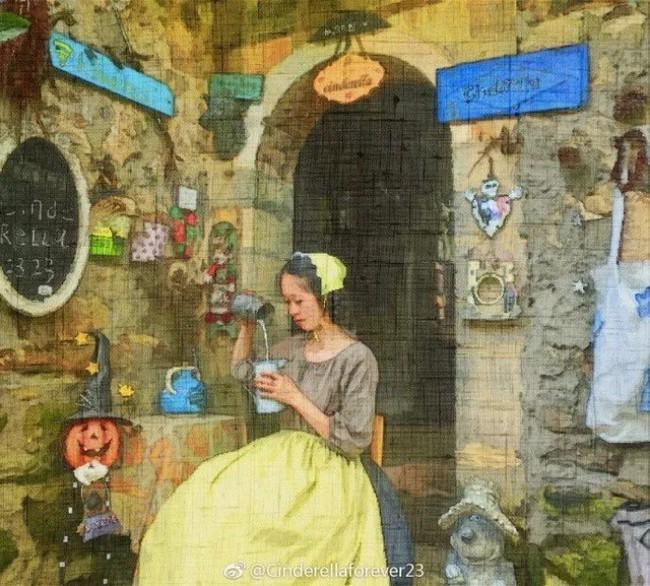 Ngôi nhà trên núi đẹp như tranh vẽ và cuộc sống bình lặng của cô gái tự nhận mình là cô bé Lọ Lem - Ảnh 3.
