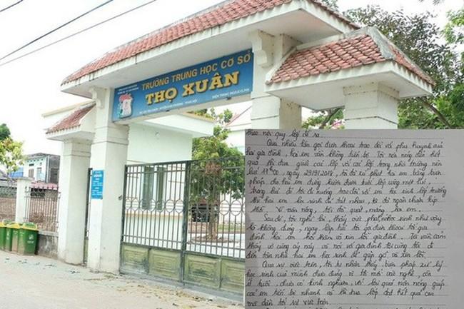 """Thực hư việc cô giáo Hà Nội bị """"tố"""" bắt học sinh tát nhau trong lớp - Ảnh 1."""