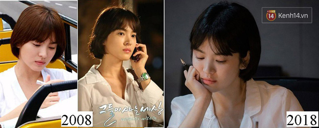 Ngoài kiểu tóc 10 năm không đổi, chiếc túi này của Song Hye Kyo còn khiến dân tình réo tên Hậu Duệ Mặt Trời - Ảnh 4.